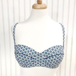 Tory Burch Underwire Bikini Top Size Medium